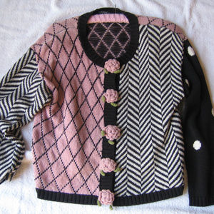 Vintage Carole Little Petites Sweater